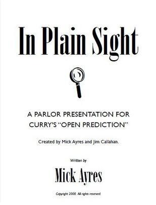 In Plain Sight by Mick Ayres and Jim Callahan