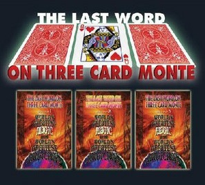 The Last Word on Three Card Monte by World's Greatest Magic