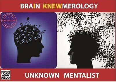 Brain Knewmerology by Unknown Mentalist