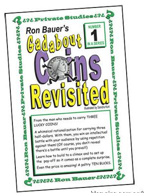 Ron Bauer 01 Gadabout Coins Revisited