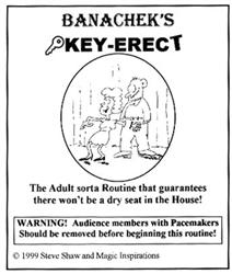 Key Erect by Banachek