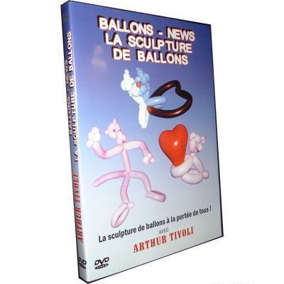 Balloons News La Sculpture de Balloons by Arthur Tivoli
