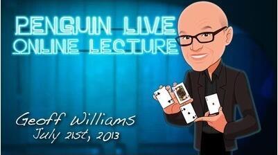 Geoff Williams LIVE Penguin LIVE