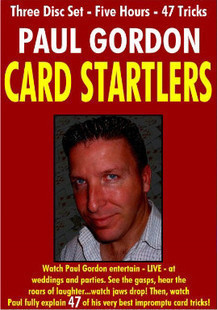 Card Startlers by Paul Gordon 3 Volume set