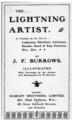 Lightning Artist by J.F. Burrows
