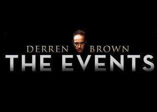 The Events How to Control the Nation by Derren Brown