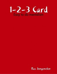 1-2-3 Card By Bas Jongenelen