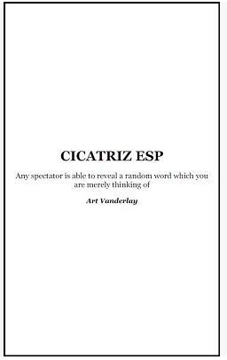 Cicatriz ESP by Art Vanderlay