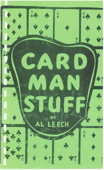 Card Man Stuff by Al Leech