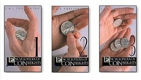 The Encyclopedia of Coin Sleights by Michael Rubinstein 3 Volume set