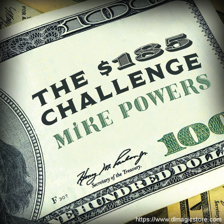 $185 challenge by Mike Powers (Instant Download)