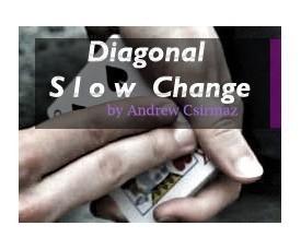 Diagonal Slow Change by Andrew Csirmaz