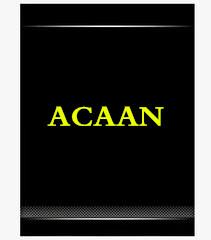 ACAAN by Bill Nagler Not for Sales