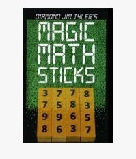 Math Sticks by Diamond Jim Tyler