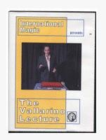 Jean Pierre Vallarino Lecture