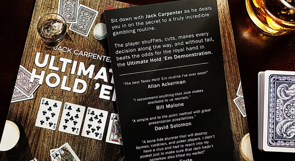 Ultimate Hold 'Em by Jack Carpenter and Dan & Dave