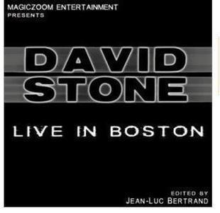 Live in Boston by David Stone