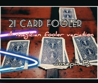 21 CARD FOOLER door Joseph B. (Instant Download)