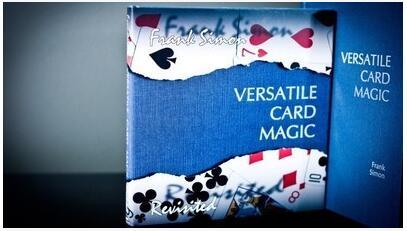 Versatile Card Magic Book by Frank Simon