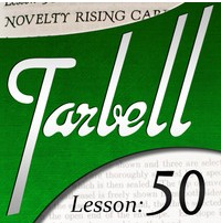 Tarbell 50 Novelty Rising Cards Instant Download