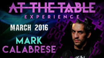 AT THE TABLE LIVE LECTURE 2 by MARK CALABRESE