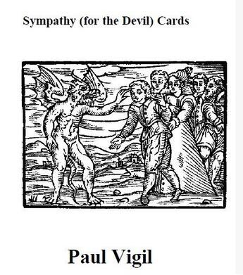Sympathy (For The Devil) Cards by Paul Vigil