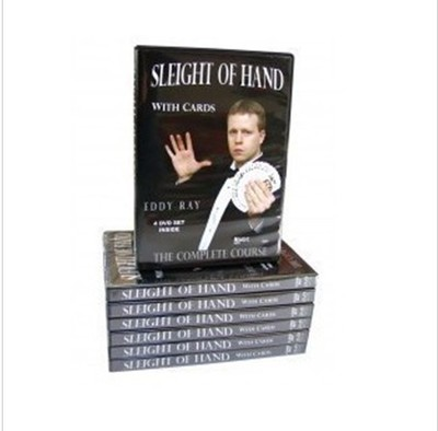 Sleight Of Hand With Cards by Eddy Ray 4 Volume set