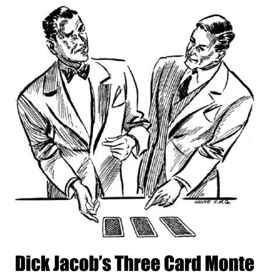 Trickshop Three Card Monte by Dick Jacob