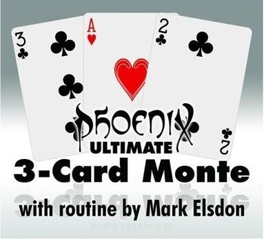 Ultimate 3-Card Monte by Mark Elsdon