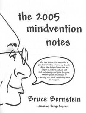 Mindvention 2005 by Bruce Bernstein