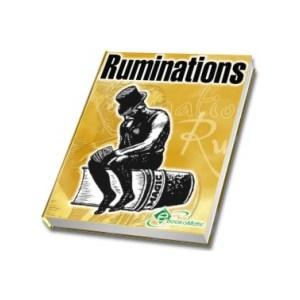 SCHNEIDERMAN STEVE by RUMINATIONS