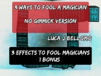 3 Ways to Fool a Magician (No Gimmick) by LJB (Instant Download)