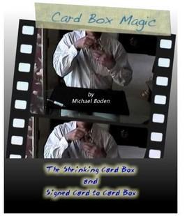 Card Box Magic by Michael Boden