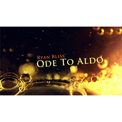 Ode To Aldo by Ryan Bliss