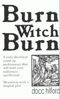 Burn Witch Burn by Docc Hilford