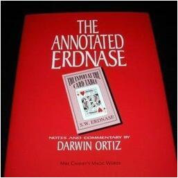 The Annotated Erdnase by Darwin Ortiz