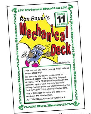 Ron Bauer 11 Mechanical Deck