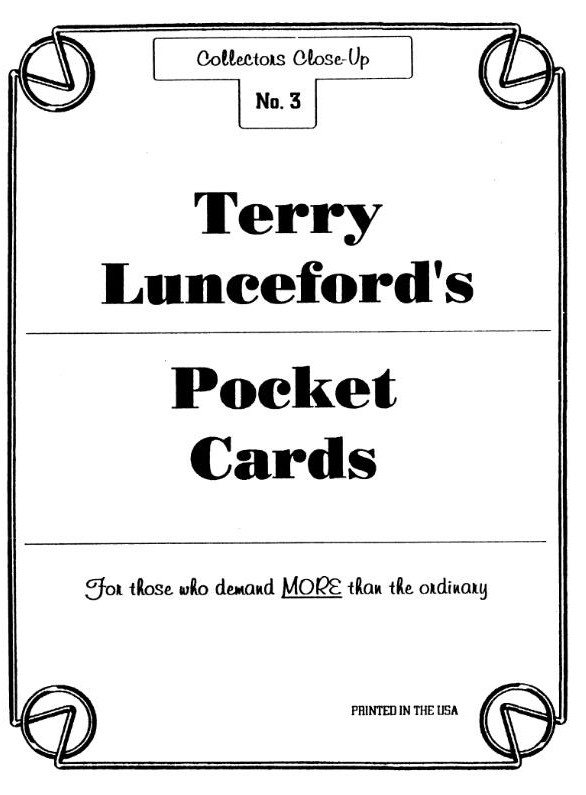 Pocket Cards by Terry Lunceford