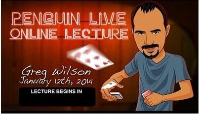 Gregory Wilson 2 LIVE Penguin LIVE