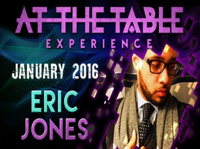 At the Table Live Lecture by Eric Jones