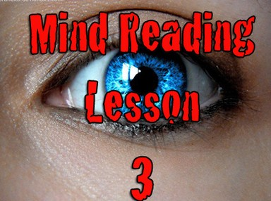 Mind Reading Lesson 3 by Kenton Knepper