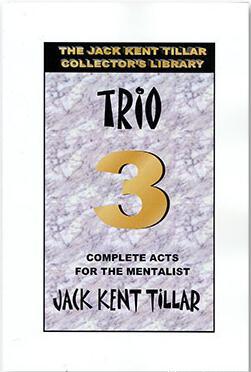 Trio by Jack Kent Tillar