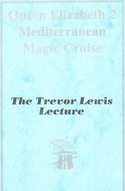 1996 Lecture Notes by Trevor Lewis