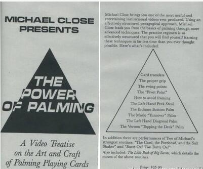 The Power of Palming by Michael Close
