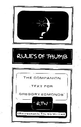 Rules Of Thumb by Greg Edmonds