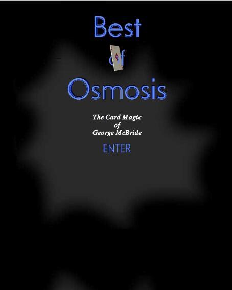 Best Of Osmosis by George McBride