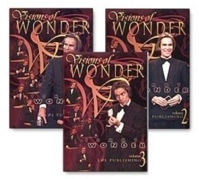 Visions of Wonder by Tommy Wonder 3 Volume set