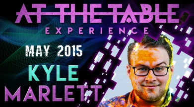 At the Table Live Lecture by Kyle Marlett
