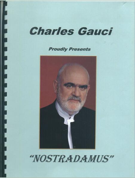 Nostradamus by Charles Gauci