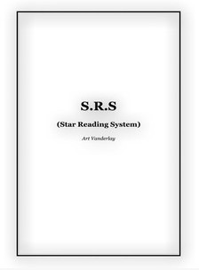 S R S Star Reading System by Art Vanderlay
